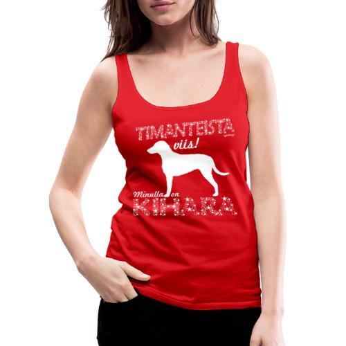 Kihara Timantti - Naisten premium hihaton toppi