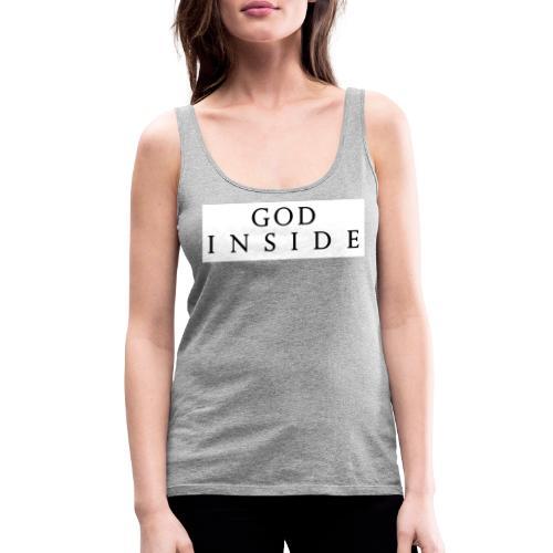 GOD INSIDE - Women's Premium Tank Top