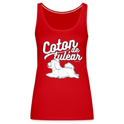 Coton De Tuléar 001 - Women's Premium Tank Top