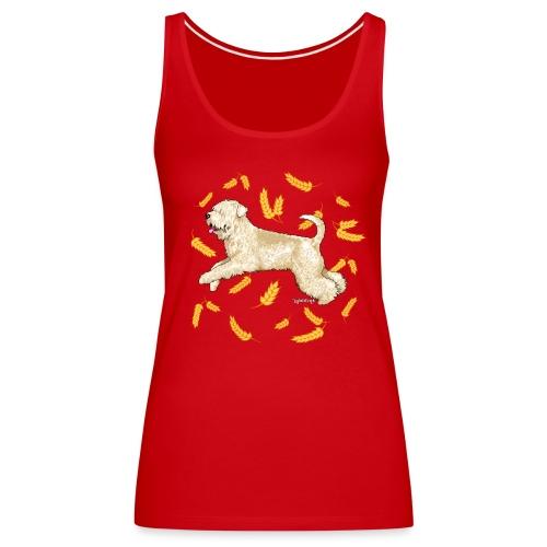 Wheat Wheaten Terrier - Women's Premium Tank Top