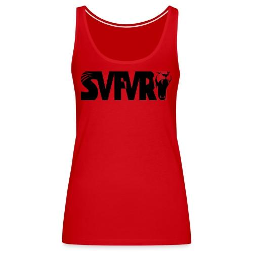 Safari Logo SCHWARZ - Frauen Premium Tank Top