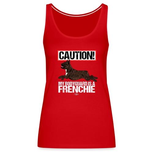 frenchbodyguard2 - Women's Premium Tank Top