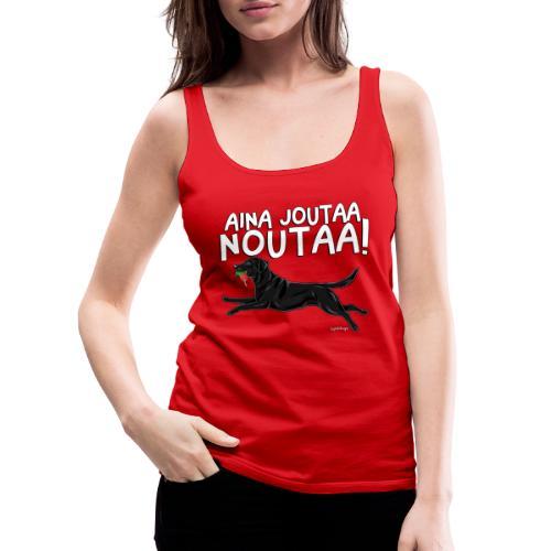 Labradori Noutaa - Naisten premium hihaton toppi