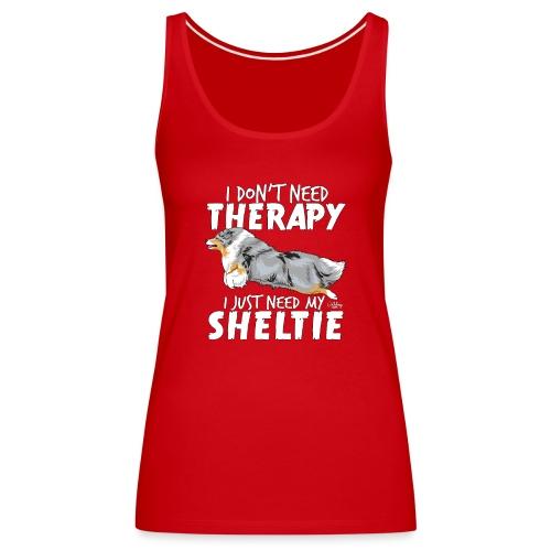 sheltietherapy4 - Women's Premium Tank Top