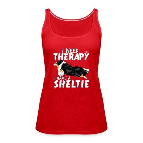 sheltietherapy2 - Women's Premium Tank Top