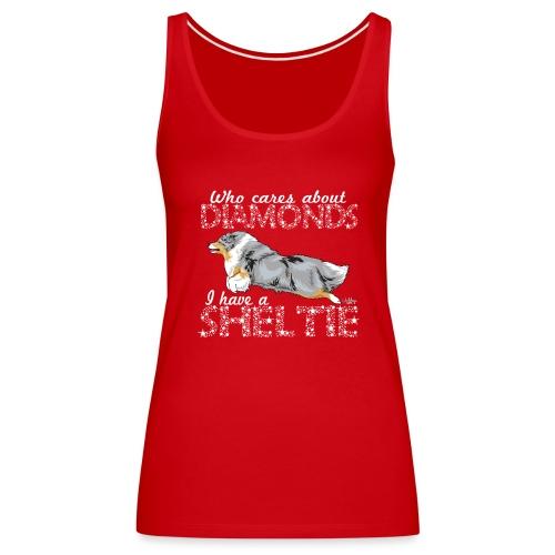 sheltiediamonds - Women's Premium Tank Top