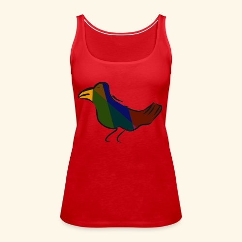 El birdo - Vrouwen Premium tank top