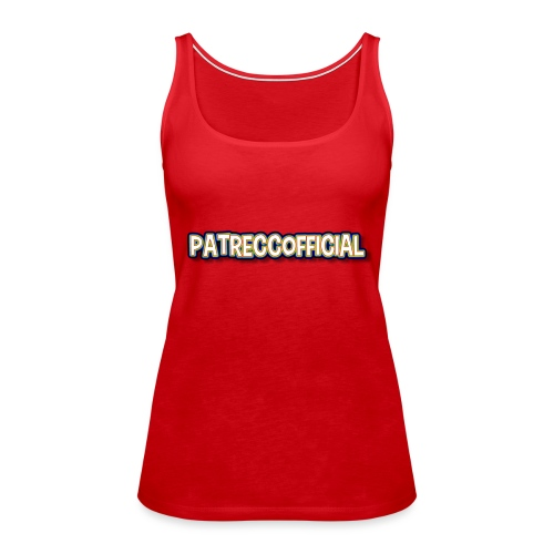 PatrecCOfficial happy - Premiumtanktopp dam