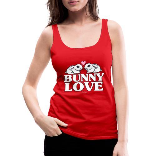 Bunny Love 2 - Naisten premium hihaton toppi