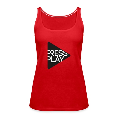 PressPlay logo - Women's Premium Tank Top