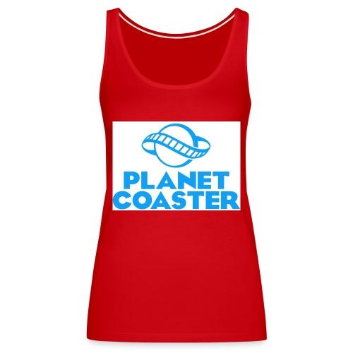 game planet coaster - Vrouwen Premium tank top