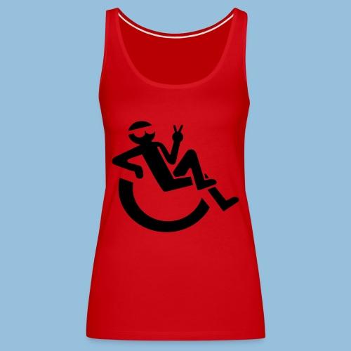 Happyweelchair1 - Vrouwen Premium tank top