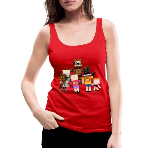 Withered Bonnie Productions - Meet The Gang - Women's Premium Tank Top