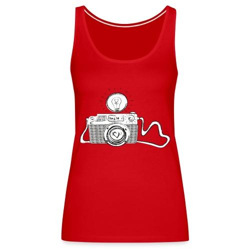S33 camera-smile - Frauen Premium Tank Top