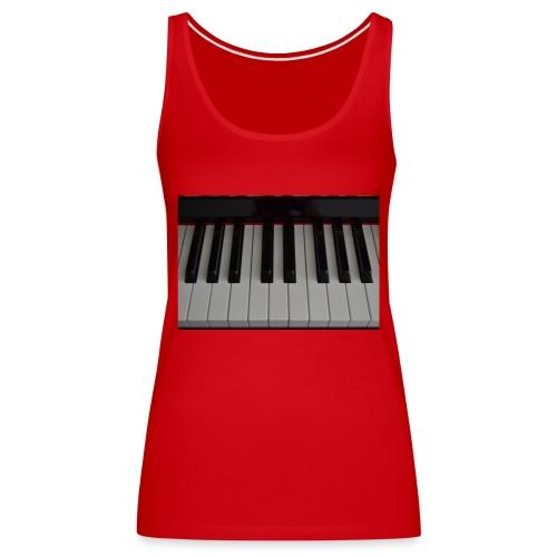 Piano - Vrouwen Premium tank top
