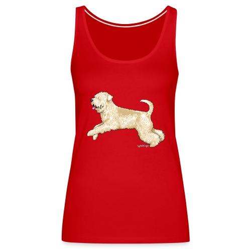 Soft Coated wheaten Terrier - Women's Premium Tank Top