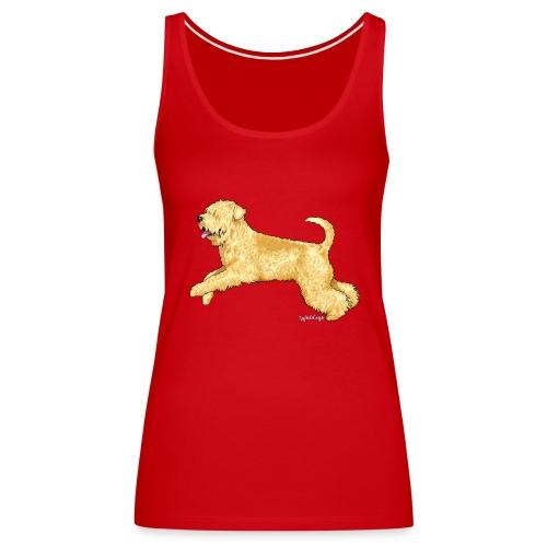 Wheaten Terrier 2 - Women's Premium Tank Top