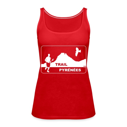 Trail Pyrénées V4 - Débardeur Premium Femme