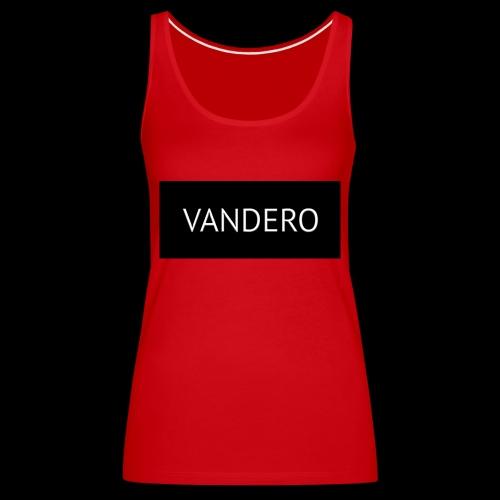 Line black vandero - Women's Premium Tank Top
