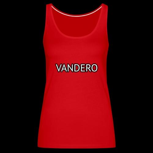 Vandero Shadow - Women's Premium Tank Top