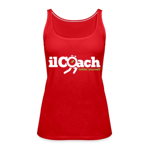 ilCoach betteryourself - Canotta premium da donna