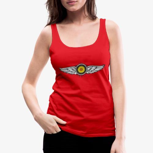 SOLRAC Wings - Camiseta de tirantes premium mujer
