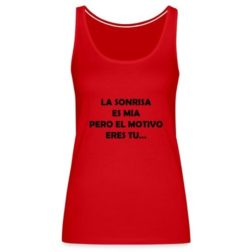 Mi Motivo - Camiseta de tirantes premium mujer