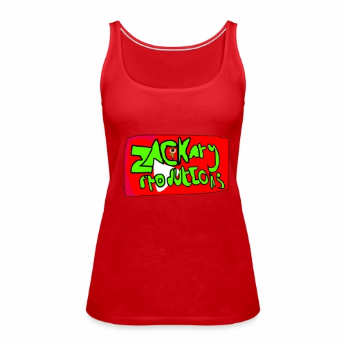 ZackaryProductions Desgin - Women's Premium Tank Top