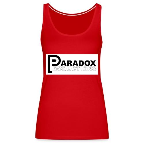 Logo Paradox Prod - Débardeur Premium Femme