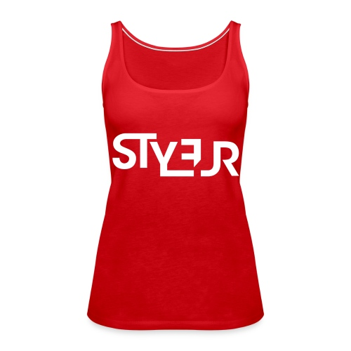 styleur logo spreadhsirt - Frauen Premium Tank Top