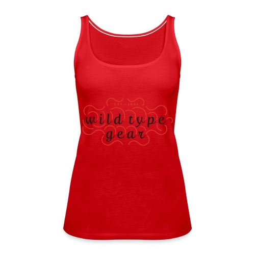 wtg stiched 2 - Women's Premium Tank Top