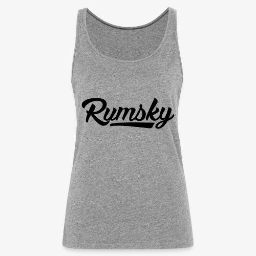 Rumsky-logo - Vrouwen Premium tank top
