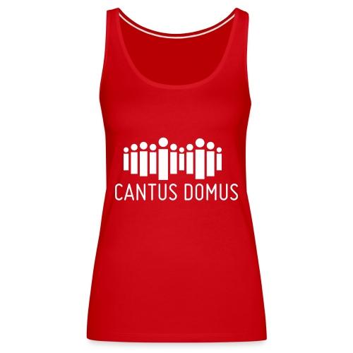 Cantus Domus Logo ohne Untertitel 2c - Frauen Premium Tank Top