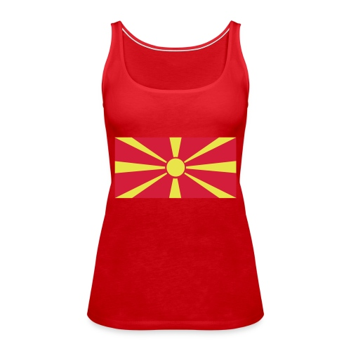 Macedonia - Vrouwen Premium tank top