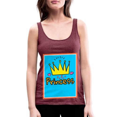 Princess - Camiseta de tirantes premium mujer