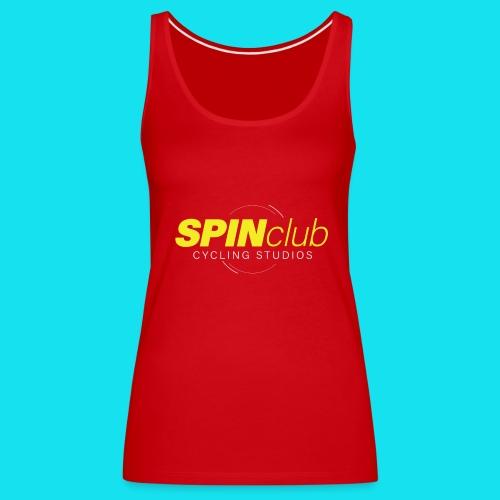 SPINclub CYCLING STUDIOS MX - Camiseta de tirantes premium mujer