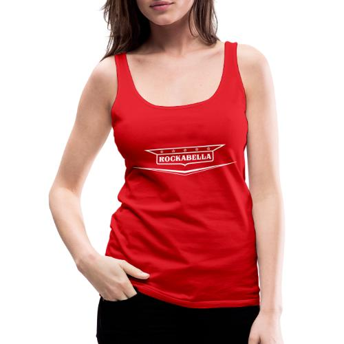 Rockabella-Shirt - Frauen Premium Tank Top