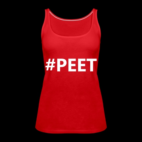 #PEET NO BOX - Vrouwen Premium tank top