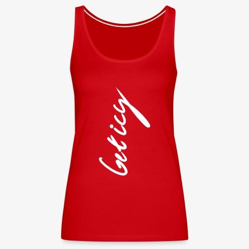 Get Icy Black - Camiseta de tirantes premium mujer