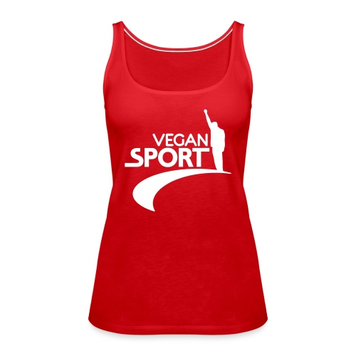 vegansport01_225x225 - Frauen Premium Tank Top