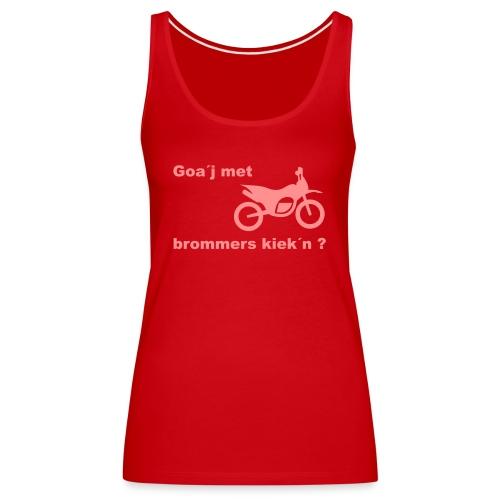 Brommers kijken - Vrouwen Premium tank top