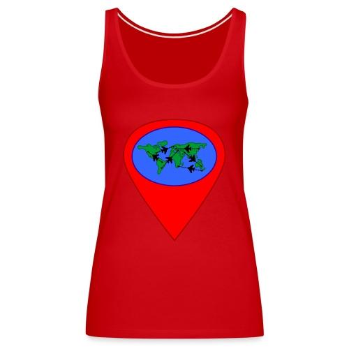 map - Camiseta de tirantes premium mujer