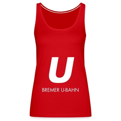 hbu logo 027 full spreadshirt motiv 2 - Frauen Premium Tank Top