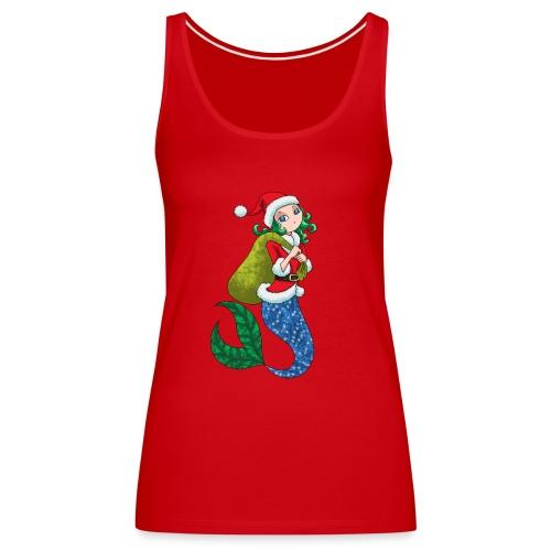 Meerjungfrau Weihnachtsmann Weihnachten Geschenk - Frauen Premium Tank Top