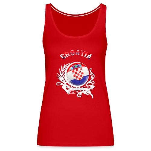 T SHIRT CROATIA Kroatien - Frauen Premium Tank Top