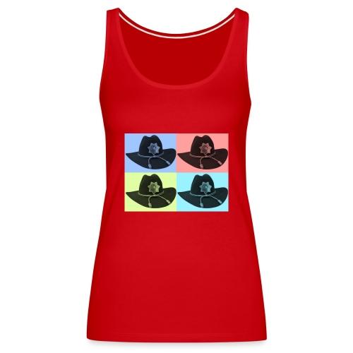 cuatro rick - Camiseta de tirantes premium mujer