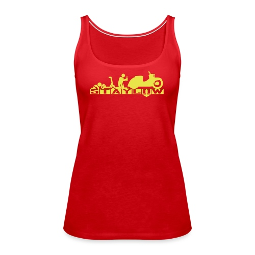 STAYLOW Bier - Frauen Premium Tank Top