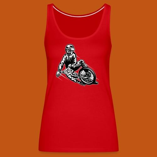 BMX / Mountain Biker 03_schwarz weiß - Frauen Premium Tank Top
