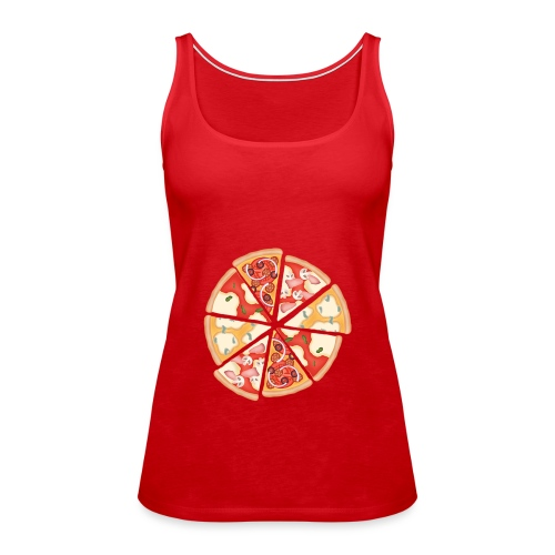 La pizza - Canotta premium da donna