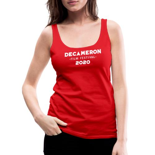 DECAMERON Film Festival 2020 - Women's Premium Tank Top